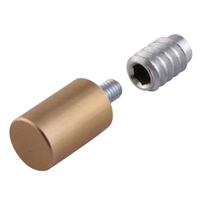 Rola Removable Egress Stop - Brass - Pack 10