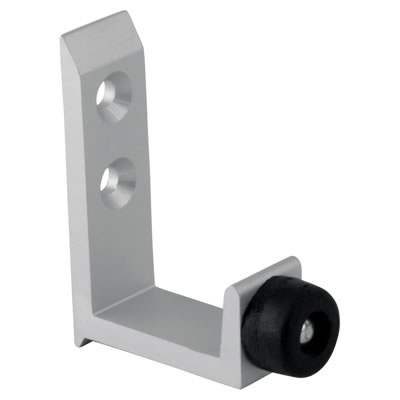 Pro Coat Hook - Satin Anodised Aluminium - 12-13mm Panels
