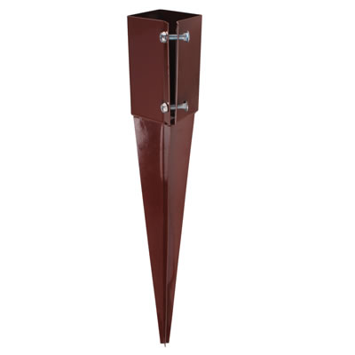 Powapost® Drive-In Fence Post Spike - Twin Bolt - 75mm
