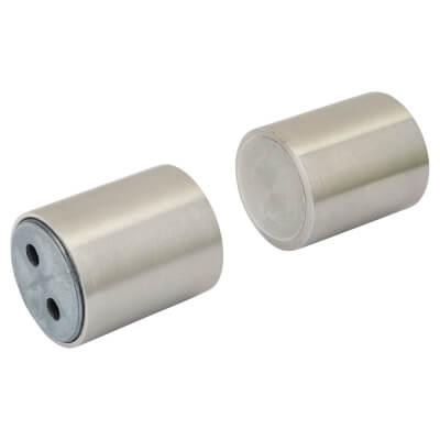 Magnetic Door Holder - 35 x 30mm - Stainless Steel )