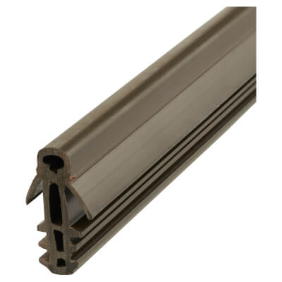 Exitex Fin Parting Bead - 3000mm - Brown