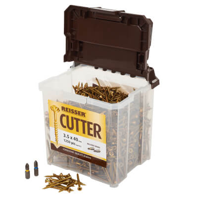 Reisser Cutter Tub - 3.5 x 40mm - Pack 1250