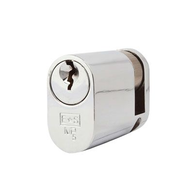 Eurospec MP5 - Oval Single - 35 + 10mm - Polished Chrome  - Keyed Alike