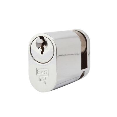 Eurospec MP5 - Oval Single - 35 + 10mm - Polished Chrome  - Keyed to Differ
