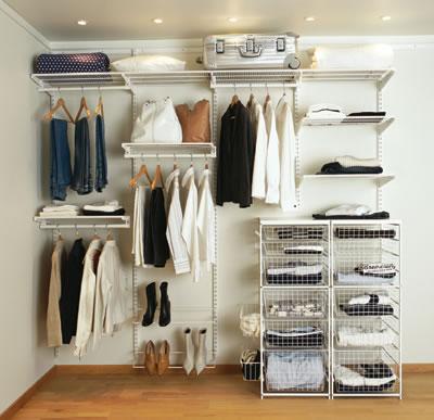 elfa® Wardrobe Kit 2 - White)