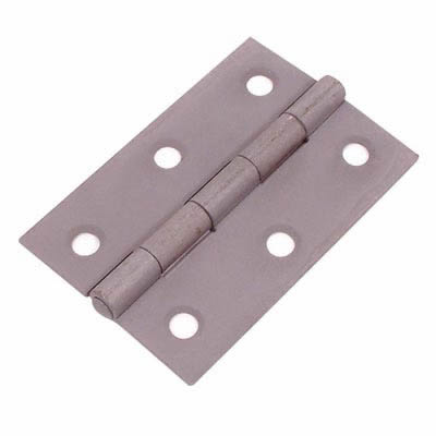 Steel Hinge - 100 x 67mm - Self Colour