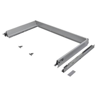 Blum TANDEMBOX ANTARO Drawer Pack - BLUMOTION Soft Close - (H) 84mm x (D) 500mm x (W) 1000mm - Grey)