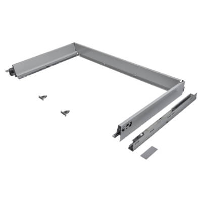 Blum TANDEMBOX ANTARO Drawer Pack - BLUMOTION Soft Close - (H) 84mm x (D) 500mm x (W) 1000mm - Grey