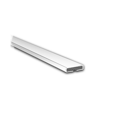 Fire Only Intumescent Strip - 10 x 4 x 2100mm - Plain - White - Pack 10