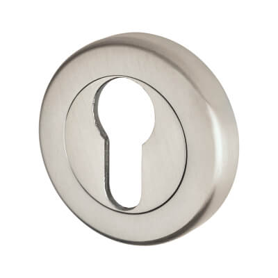 M Marcus Sorrento Escutcheon - Euro - Satin Chrome
