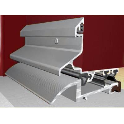 Exitex Mobility Low Weatherbar Kit - 914mm - Silver Aluminium