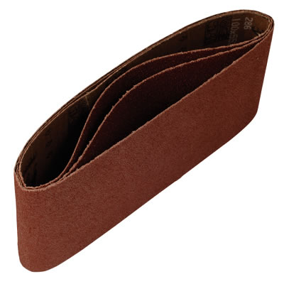 Mirka Hiolit X Portable Belts - 100 x 610mm - Grit 100 - Pack 10)