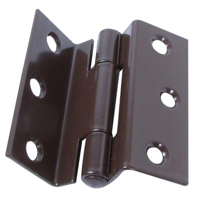 Storm Proof Casement Hinge - 63mm - Brown