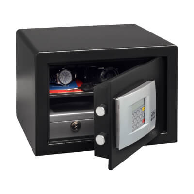 Burg Wächter P 2 E PointSafe Electronic Safe - 255 x 350 x 300mm - Black)