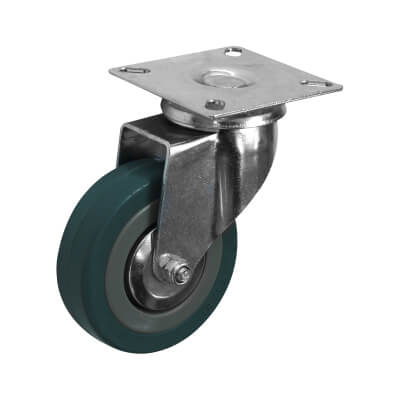 Coldene General Purpose Castor - Swivel - 30kg Maximum Weight - Grey)