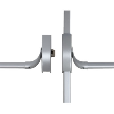 DORMA PHA2000 Rebated Double Door Panic Bar Set)