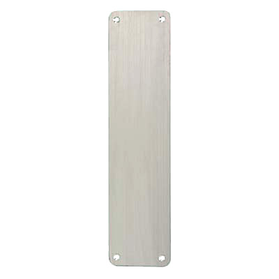 Altro Plain Finger Plate - 350 x 75 x 1.5mm - Polished Stainless
