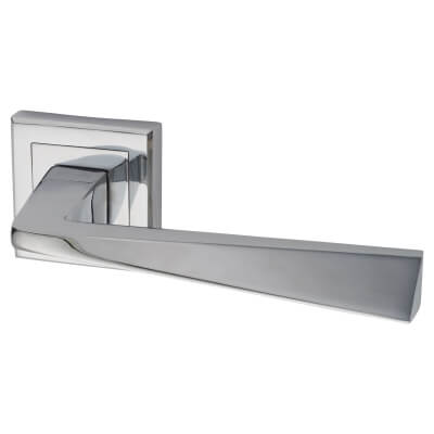Morello Origin Door Handle - Polished Chrome