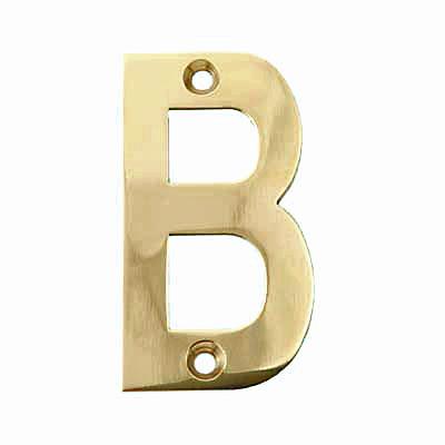 75mm Letter - B - Brass PVD