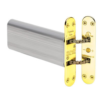 Perkomatic R85 Hydraulic Concealed Closer - Brass)
