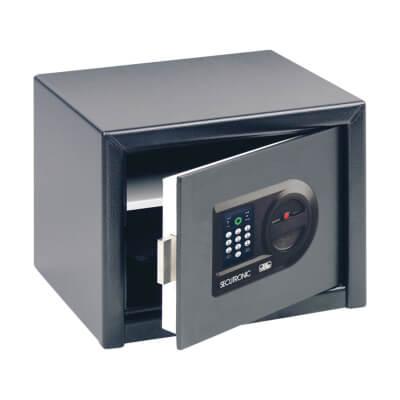 Burg Wächter H 3 E HomeSafe Electronic Safe - 257 x 347 x 298mm - Black)