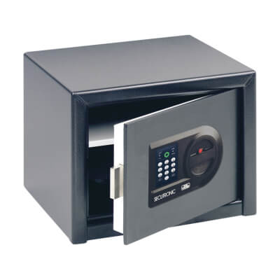 Burg Wächter H 3 E HomeSafe Electronic Safe - 257 x 347 x 298mm - Black)