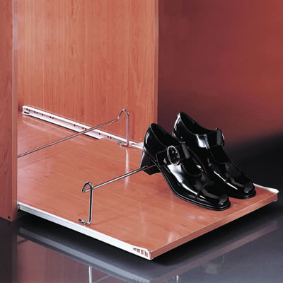 Wire Frame Shoe Stand - Fixed 530mm Width)