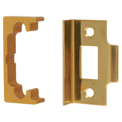 Rebate Kit for Code Operated Locks - Brass Plated