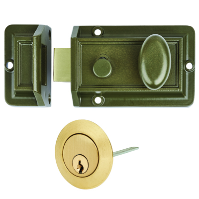 Contract Traditional Nightlatch - Green