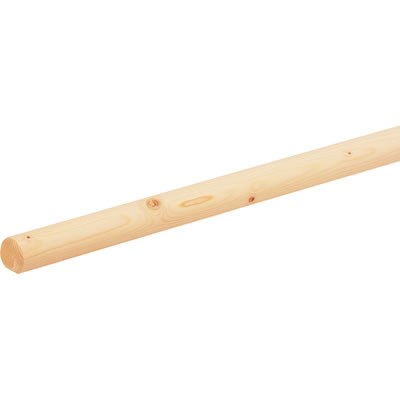 Easi-rail handrail system - Wooden Spruce