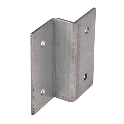 Fence 'Z' Clip - Galvanised - Pack 4)