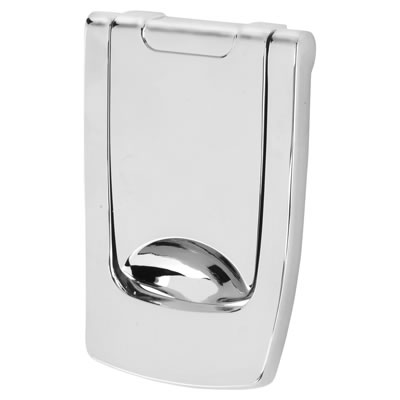 Hoppe Designer Knocker - 110 x 74mm - Polished Chrome