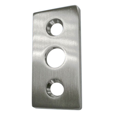 Keep Plate for Glass Doors - To Suit Timber Frame)