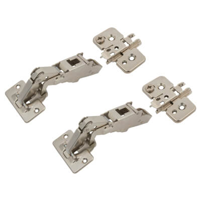 Blum CLIP Top Cabinet Hinge Pack - 170° -Sprung - Overlay)