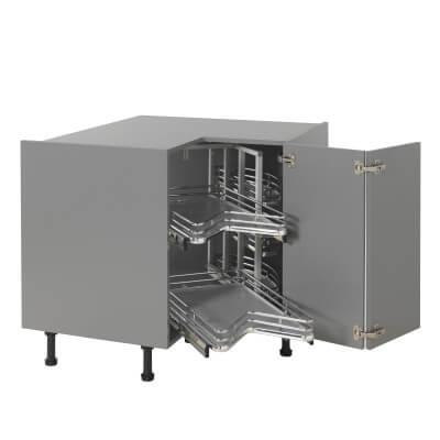 Ultimate Carousel Plus - Suit 900 x 900mm L Config Kitchen Corner Base Unit)