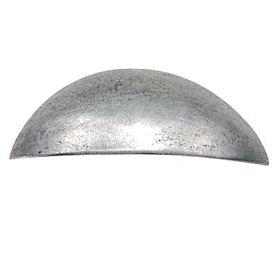 Finesse Plain Grip Cabinet Handle - 64mm Centres - Pewter