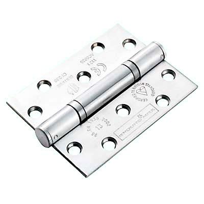 Enduro Triple Knuckle Thrust Hinge - 100 x 76 x 3mm - Satin Stainless Steel)