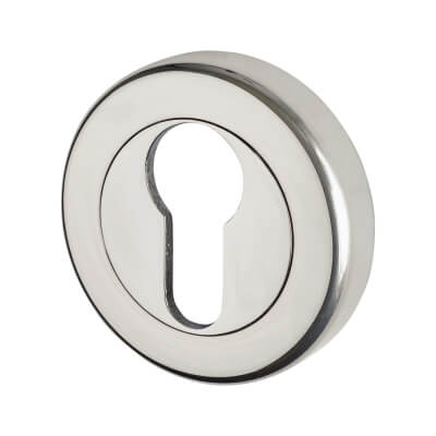 M Marcus Sorrento Escutcheon - Euro - Polished Chrome