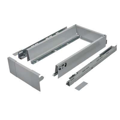 Blum TANDEMBOX ANTARO Internal Drawer - BLUMOTION - (H) 84mm x (D) 450mm x (W) 1000mm - Grey