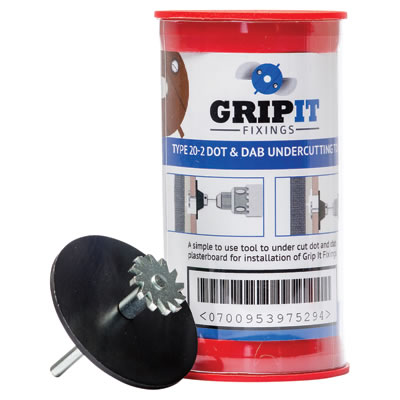 Grip It® Dot and Dab Undercutting Tool Kit - Brown - 20mm)