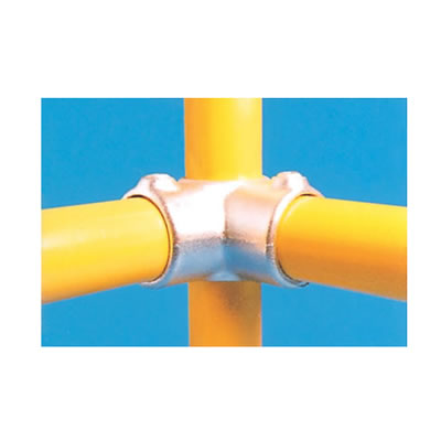 Corner Connector with Through Centre Tube)