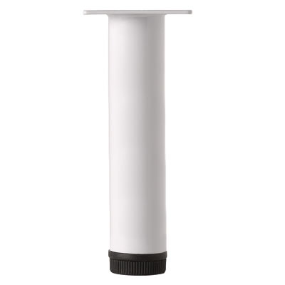 Round Furniture Leg - 32 x 200mm - White