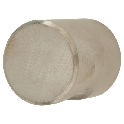Altro Solid Turned Dome Cabinet Knob - 25mm - Satin Stainless Steel