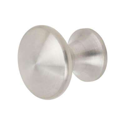 Altro Cabinet Knob - Mushroom Style - 30mm - Satin Stainless Steel