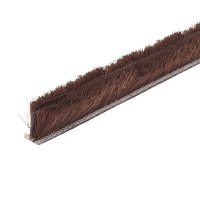 Exitex Slide Pile with Fin - 8.5mm Pile - Brown