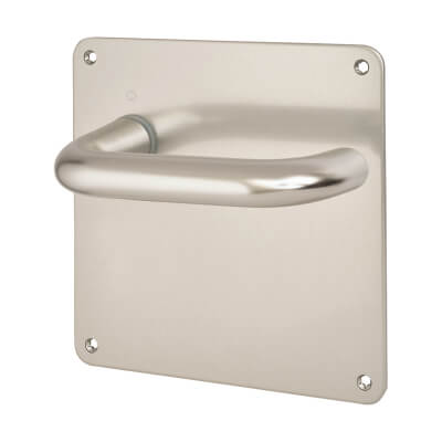 Altro 20mm Return to Door Handle - Latch Set - Aluminium