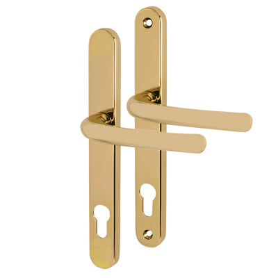 Fab & Fix Balmoral - uPVC/Timber - Multipoint Lever/Lever - 92mm centres - Hardex Gold)