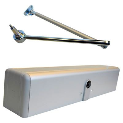 Label Neptis 250SET Door Operator 250kg - Standard Arm  sc 1 st  Ironmongery Direct : motorised door arm - pezcame.com