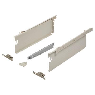 Blum METABOX BLUMOTION Soft Close Drawer Pack - Single Extension - 118mm (H) x 350mm (D) - 30kg