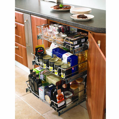 Individual Pull Out Organiser - Cabinet Width 400mm)